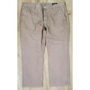 Bonobos Mens Straight Brown Chino Pants Size 38